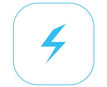 lightning sign iOS 闪电签